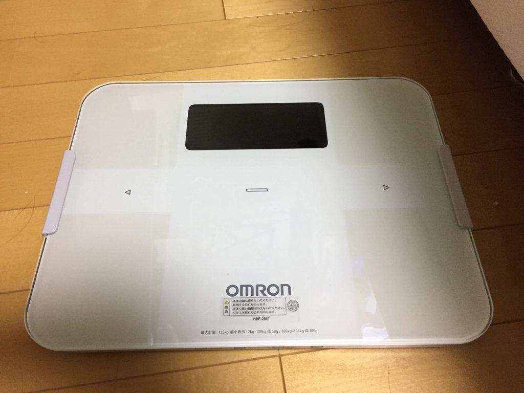オムロンの体組成計