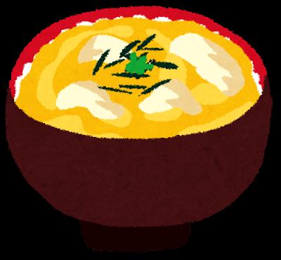 親子丼イラスト